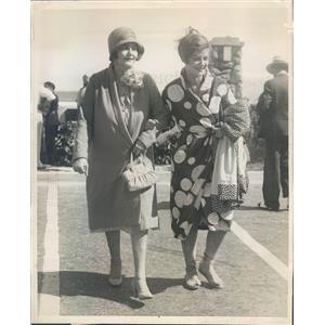 1930 Press Photo Palm Beach FL Society Mrs Marjorie de Oelrichs - ner43067