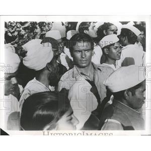1962 Press Photo Horst Buchhol Nine Hours to Rama - RRX98507