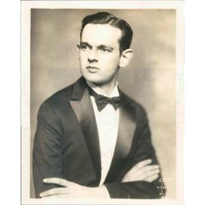 1929 Press Photo NYC John B Daniel of NBC - ner54987