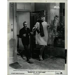 1967 Press Photo Barefoot In The Park Film Actors Fonda - RRW18461