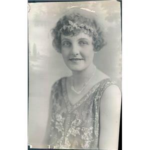 1927 Press Photo Denver CO Opera Singer Lucile Fowler of KOA Radio - ner59047
