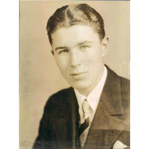 1929 Press Photo Portland OR Opera Singer Tom Clark Staff Baritone - ner6817