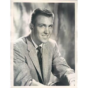 1958 Press Photo TV Game Show Host Jack Linkletter - rkf11013