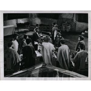 1960 Press Photo Jeff Hunter plays Jesus Christ - RRW85073