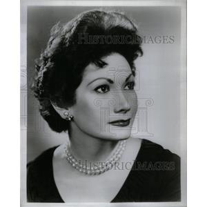 1956 Press Photo Brenda Lewis American Singing Actress - RRX28003