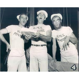 1952 Press Photo St Petersburg FL Ken McLeod, Bill Morgan, Fred Lamb