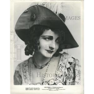 1951 Press Photo Ingeborg Torrup Stage FIlm Actress - RRX89379