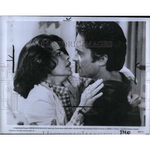 1978 Press Photo Geneviève Bujold Film TV Actress Mich - RRX55773