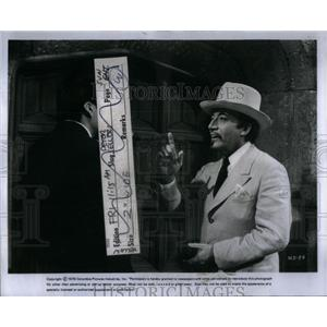 1976 Press Photo Peter Sellers British Film Actor - RRX54293