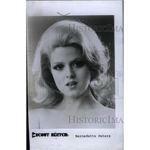 1980 Press Photo Bernadette Peters American Ozone Park - RRW96651