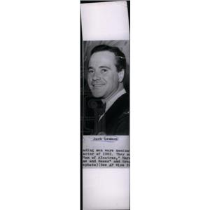 1962 Press Photo John Uhler Jack Lemmon Mister Roberts - RRX45661
