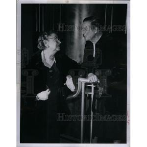 1959 Press Photo Alice Hale & Alexander Barbour, Actors - RRX34133