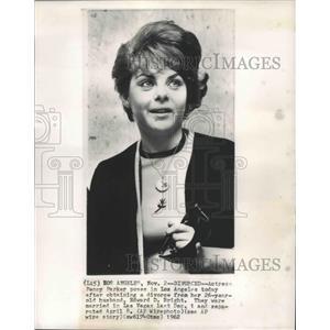 1962 Press Photo Actress Penny Parker