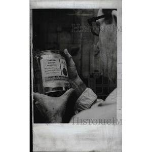 1968 Press Photo Uranium Dioxide United Nuclear Corp - RRW75621