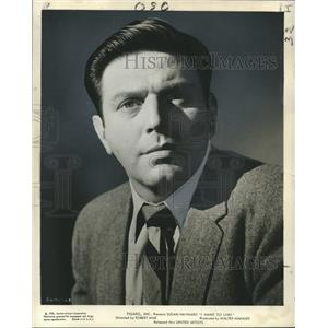 """1958 Press Photo """"I Want to Live!"""" - Theodore Bikel in Robert Wise Film"""