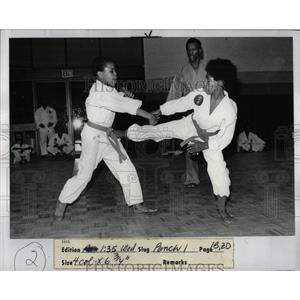 1977 Press Photo Sheldon Amir Harold Alin Farid Zarif