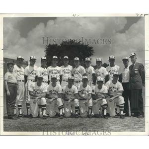 1968 Press Photo Baseball - American Bank Stars of Shreveport - nos03861