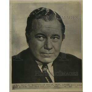 1948 Press Photo Movie Actor Edgar Buchanan - sba17928