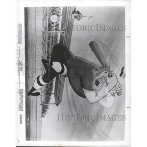 1956 Press Photo Music Land Animated Film Baseball - RRX94167