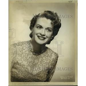 1952 Press Photo Rosemary DeCamp, actress. - nop20986