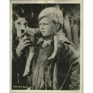 1956 Press Photo Brandon DeWilde, actor. - nop19502