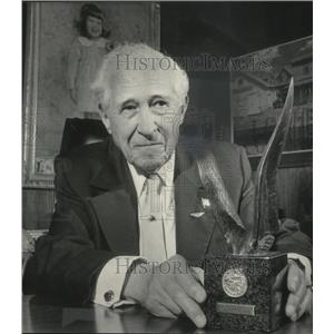 1985 Press Photo Ira Milton Jones former Air Force pilot in World War I