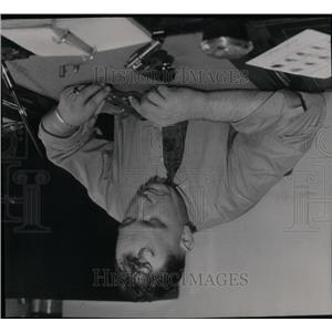 1936 Press Photo Darrell C. Wicke Kalamazoo Police - RRX54415