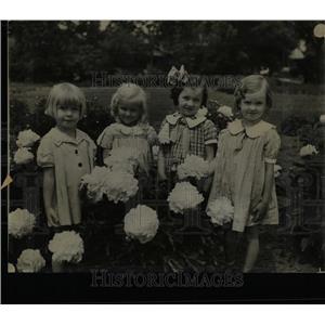 1936 Press Photo Steele School Kindergarten Washington - RRX61791