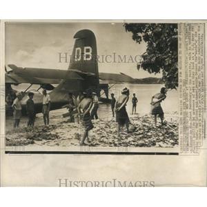 1940 Press Photo Native Women Pulawat Trust Territory - RRX81931