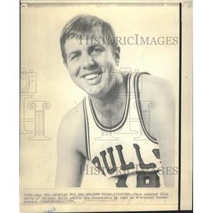 1974 Press Photo Chicago Bulls Center Tom Boerwinkle - nos05057