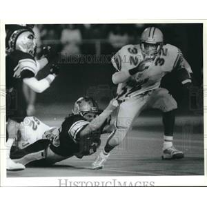 1988 Press Photo Judson and Clark high schools play a prep football game