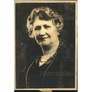 1932 Press Photo Clara Harrigal announces candidacy for US Senate seat