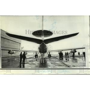 1972 Press Photo Modified Boeing 707-320 To Evaluate Radar for AWACS - not01387