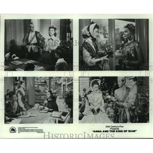 1989 Press Photo Irene Dunne & Rex Harrison in Anna and the King of Siam, 1946.