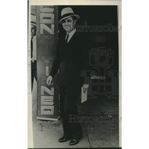 1938 Press Photo Ed Gossett wins 13th Congressional District of Texas election