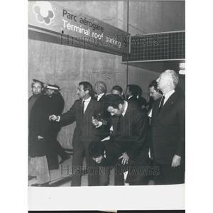 1974 Press Photo Charles de Gaulle Airport Inauguration - KSK01515