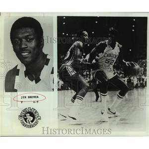 1979 Press Photo Cleveland Cavaliers basketball player Jim Brewer - sas05231
