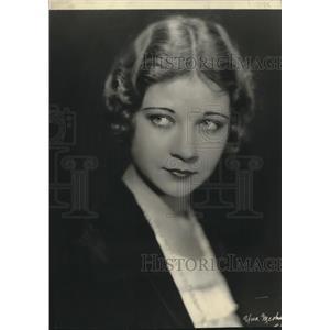 1952 Press Photo of an earlier photo of actress Una Merkel - lrz00051