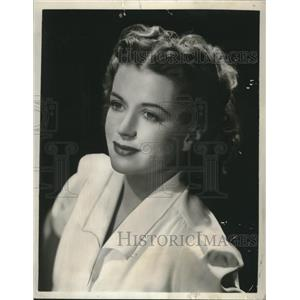 "1949 Press Photo Actress Rosemary De Camp Stars in, ""Dr. Christian's Nurse"""