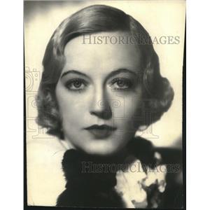 1932 Press Photo Headshot of Actress Marion Davies - lrz00234