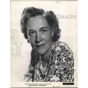 """1948 Press Photo Anne Revere in a scene from """"Gentleman's Agreement."""""""