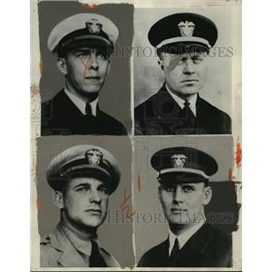 1930 Press Photo Naval officers will join National Elimination Balloon Races