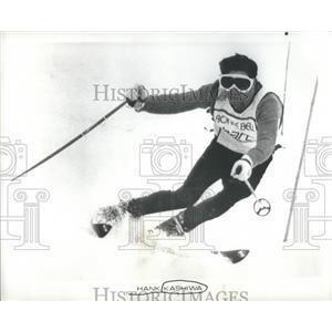 1973 Press Photo Hank Kashiwa US Team Skier Olympian - RRQ05869