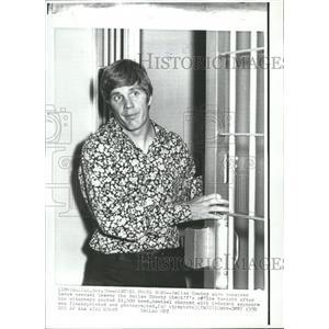 1970 Press Photo Dallas Cowboys Receiver Lance Rentzel - RRQ00093