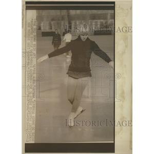 1973 Press Photo Janet Lynn Nowicki Skater Olympic - RRQ00155