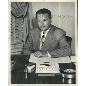 Press Photo Charles Logan President N.O. Pirates Inc. - RRQ00499