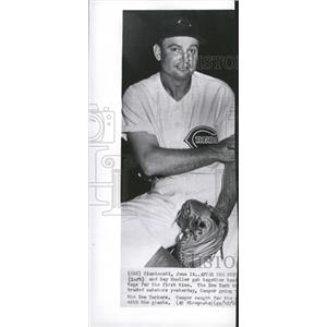 1949 Press Photo Cooper Morrison Carlisle Gaurd Footbal - RRQ00861