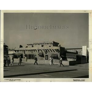 1934 Press Photo Dobe House Southwest Edwards Rancho - RRQ02083