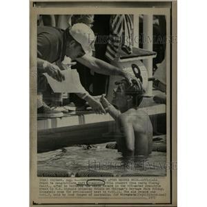 1972 Press Photo Kurt Krumpholz Swimmer Santa Clara Cal - RRQ02797