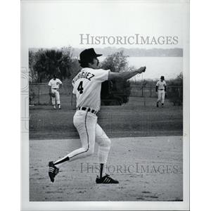 1979 Press Photo Aurelio Rodrlguez Ituarte Baseball - RRQ02893